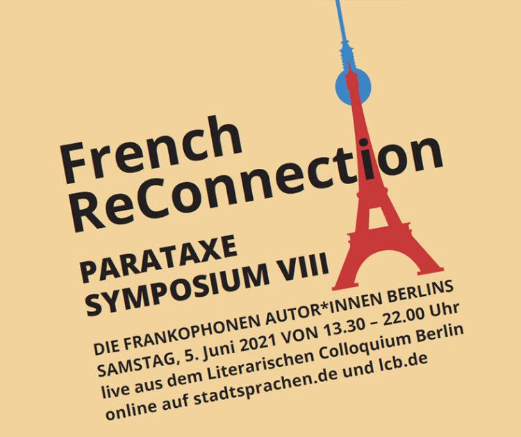 PARATAXE Symposium VIII – French ReConnection