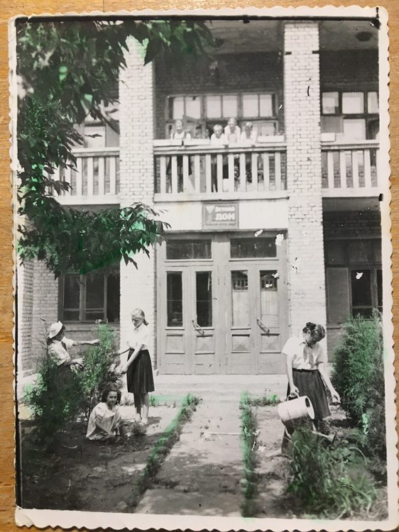 Ruhepause. Russland 1950