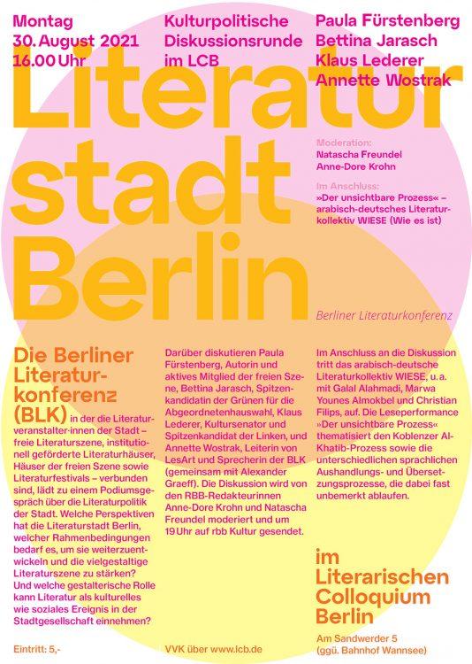 Literaturstadt Berlin