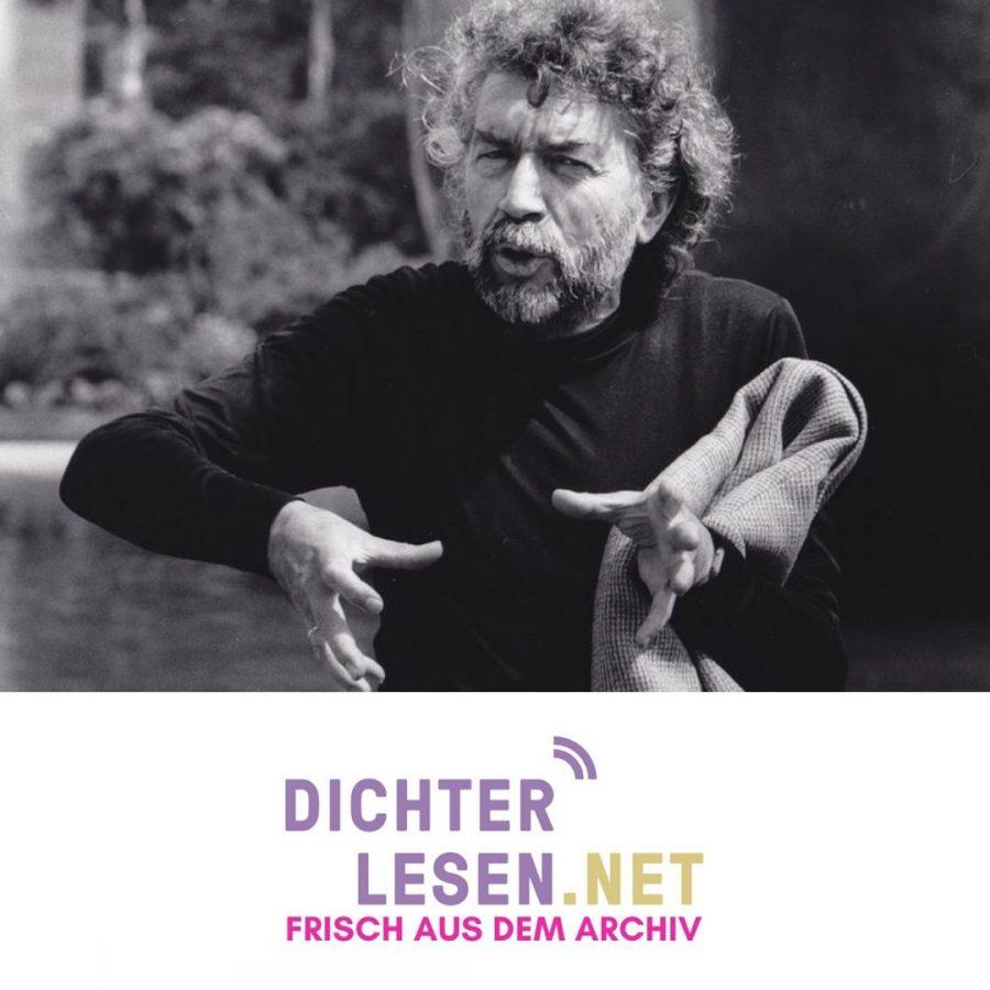 Alain Robbe-Grillet © Renate von Mangoldt, 1987