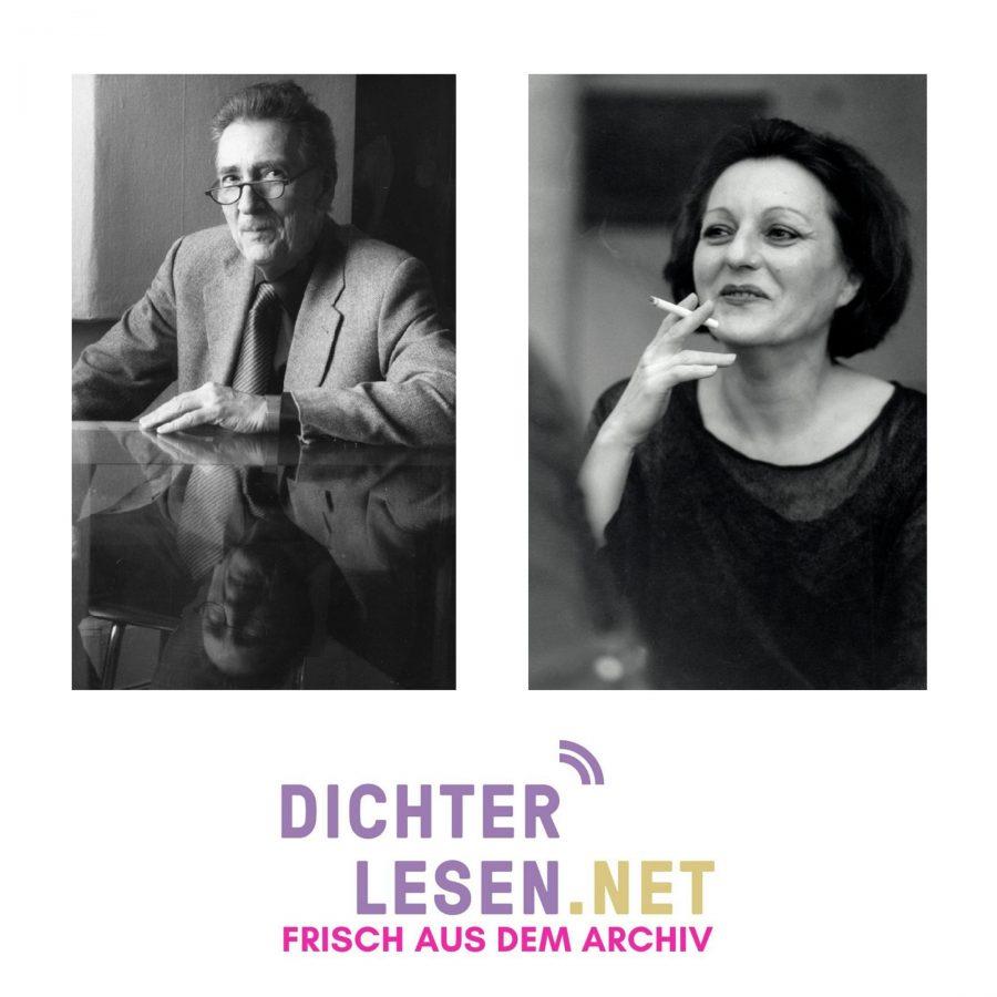 Oskar Pastior und Herta Müller © Renate von Mangoldt