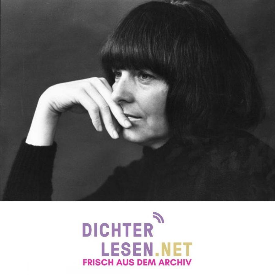 Friederike Mayröcker © Renate von Mangoldt