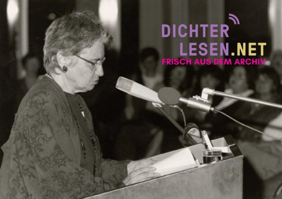 Ruth Klüger © DLA Marbach