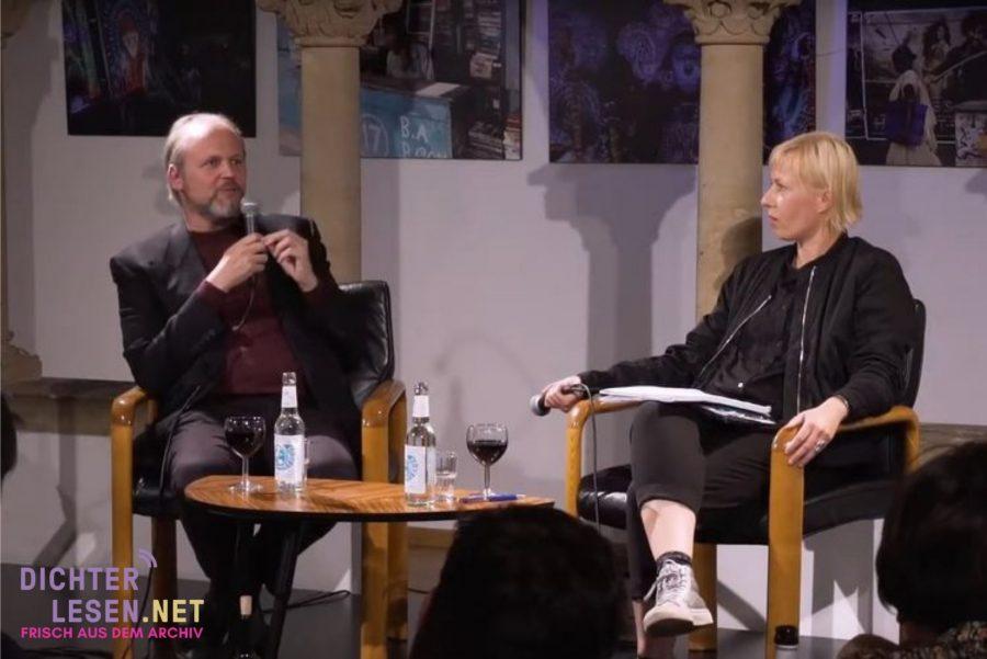 Wolfgang Ullrich im Gespräch mit Julia Hoffmann © LCB