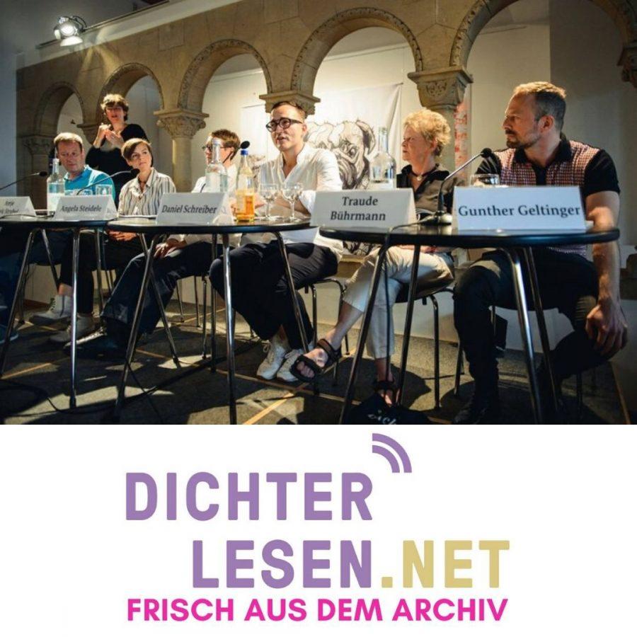 Hans Pleschinski, Antje Rávic Strubel, Angela Steidele, Daniel Schreiber, Traude Bührmann & Gunther Geltinger © Gregor Fischer