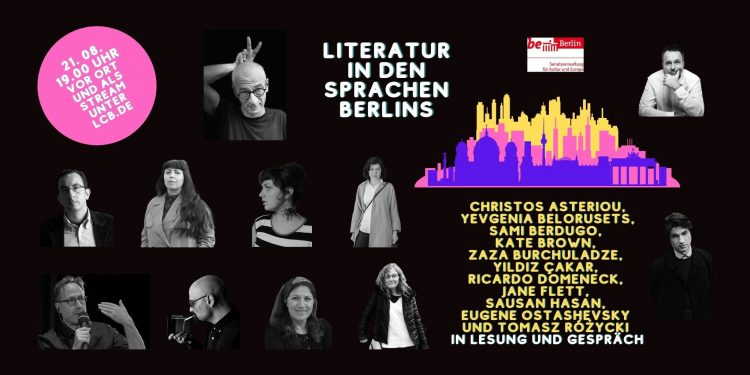 Literatur. Literatura. أدب. Литература. ספרות – in den Sprachen Berlins