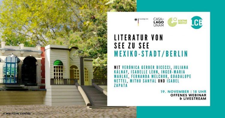 Literatur von See zu See – Mexiko-Stadt / Berlin