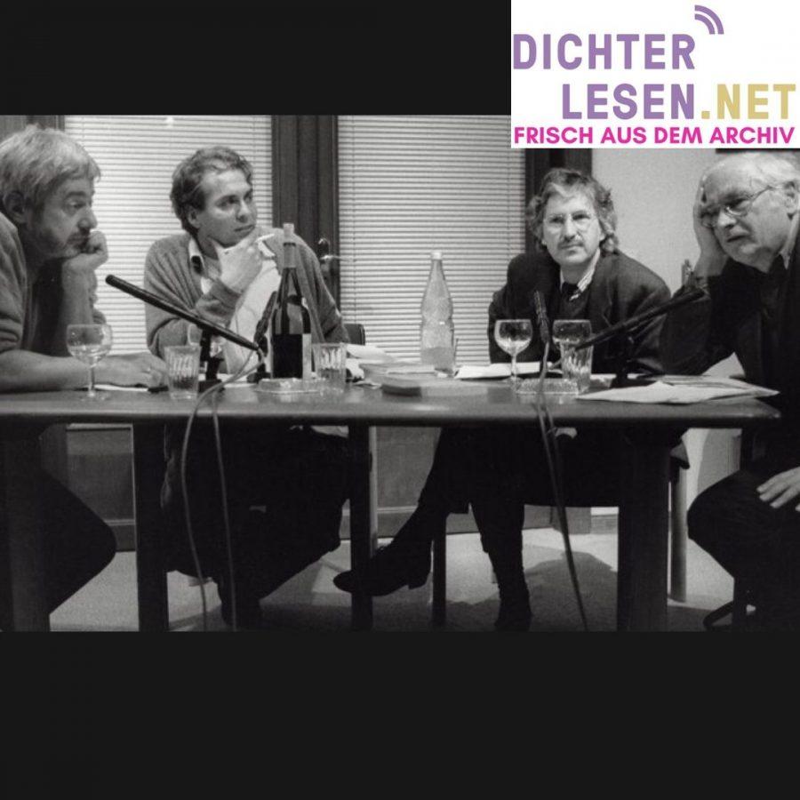 v.l.n.r. Jurek Becker, Hajo Steinert, Volker Hage, Martin Walser © Renate von Mangoldt