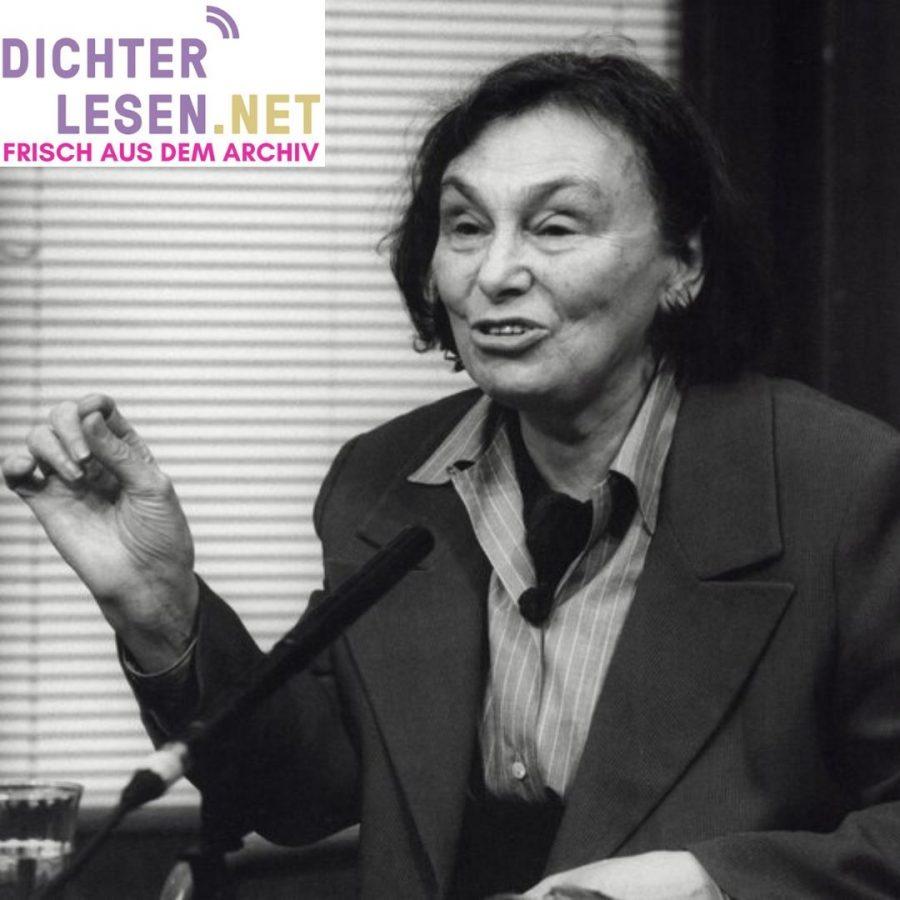 dichterlesen 9 Ilse Aichinger 1996